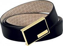 Ligne D Belt Héritage Black Box – Chinese Lacquer Yellow Gold