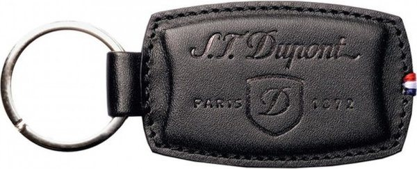 Key Ring Elysée – Black Leather