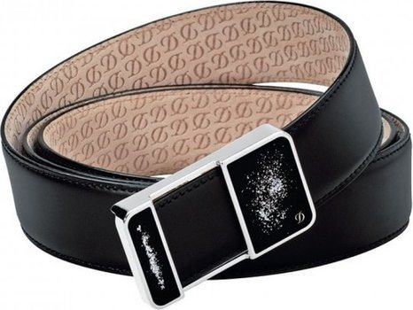 Line D Belt Héritage Black Box – Chinese Lacquer Palladium