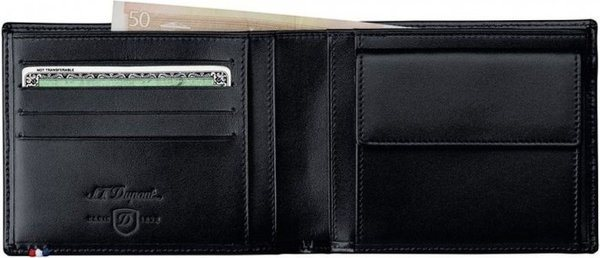Line D Coin Purse/Billfold For Credit Cards Elysée Black